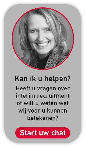Start uw chat over interim recruitment